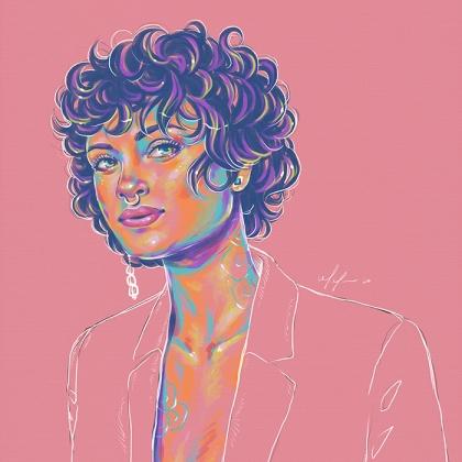 Rainbow Girl 81 by Tina Mailhot-Roberge (vervex)