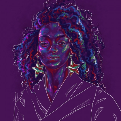 Rainbow Girl 82 by Tina Mailhot-Roberge (vervex)