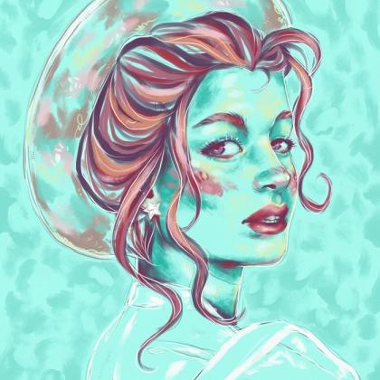 Rainbow Girl 83 by Tina Mailhot-Roberge (vervex)