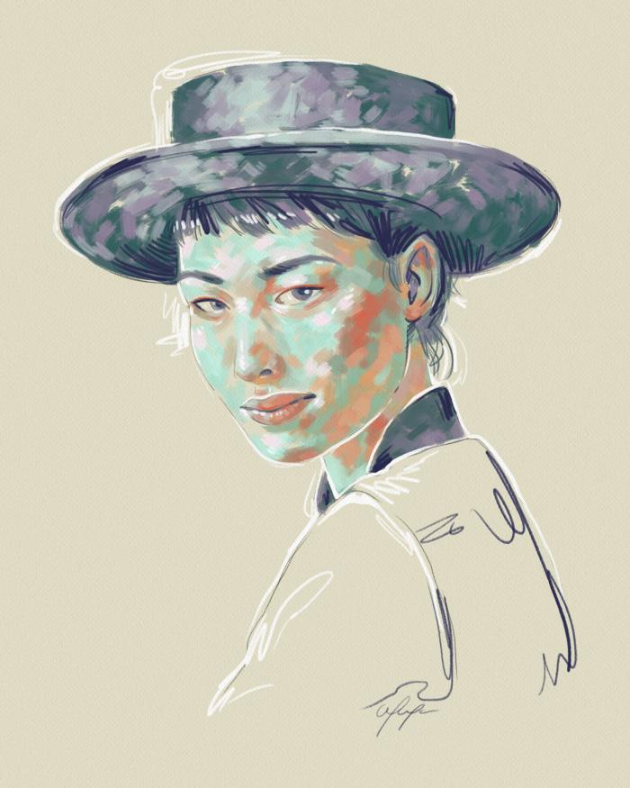 Rainbow Girl 29 by Tina Mailhot-Roberge (vervex)