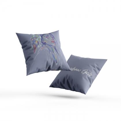 Pillow Rainbow Girl 44
