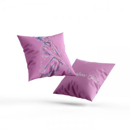 Pillow Rainbow Girl 76
