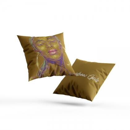 Pillow Rainbow Girl 85
