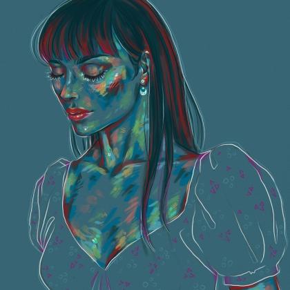 Rainbow Girl 86 by Tina Mailhot-Roberge (vervex)