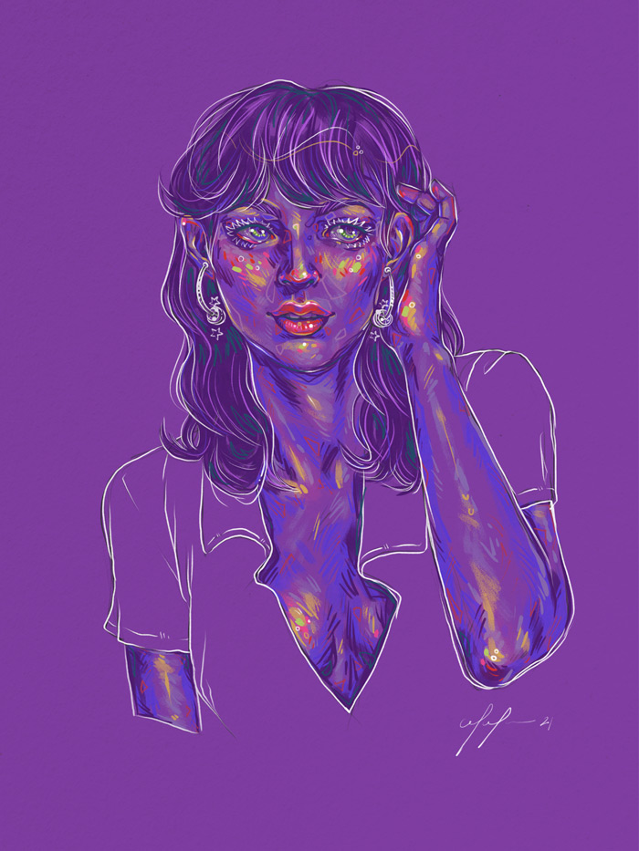 Rainbow Girl 89 - by Tina Mailhot-Roberge (vervex)